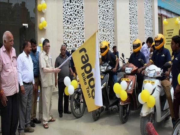 Union Minister Santosh Kumar Gangwar flags off Rapido Bikes at Bareilly