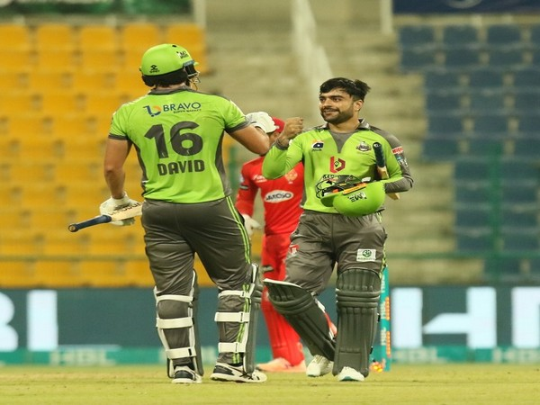 Lahore Qalandars defeated Islamabad United by five wickets (Image: Lahore Qalandars' Twitter)