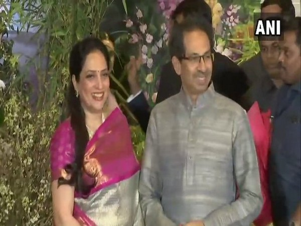 Maharashtra Chief Minister Uddhav Thackeray with wife Rashmi Thackeray (File Photo)
