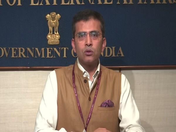 MEA spokesperson Raveesh Kumar (File photo)