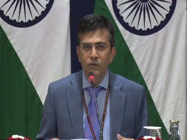 MEA spokesperson speaking at a  press briefing in New Delhi on Thursday.