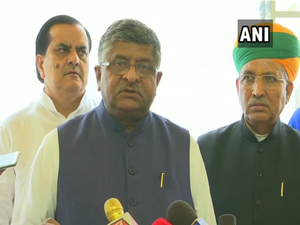 Law Minister Ravi Shankar Prasad. File photo/ANI
