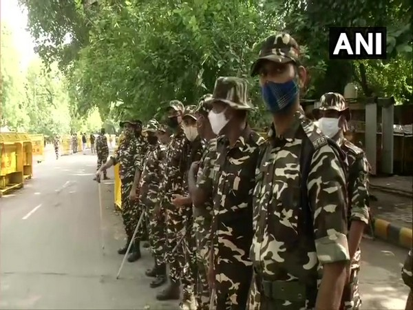 Security increased in Delhi ahead of the scheduled farmers protest