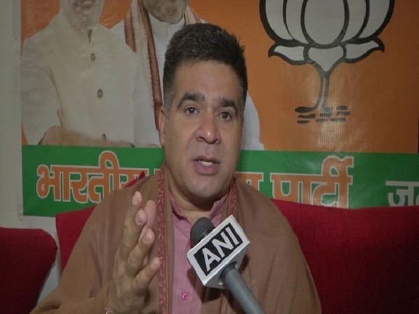 J-K BJP president Ravinder Raina on Saturday. Photo/ANI