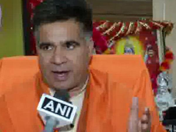 President of BJP's Jammu and Kashmir unit Ravinder Raina speaking to ANI