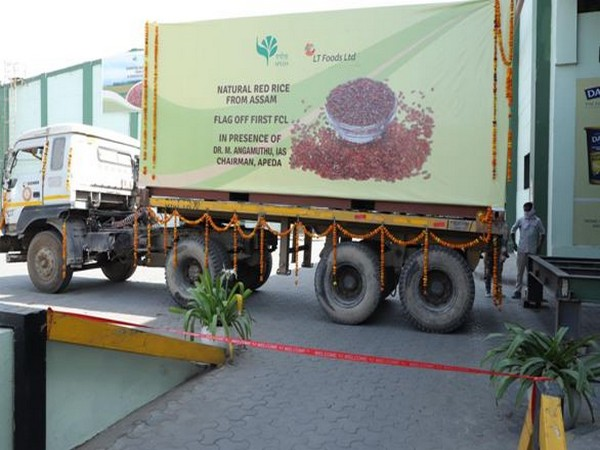 The red rice is being sourced by leading rice exporter - LT Foods.
