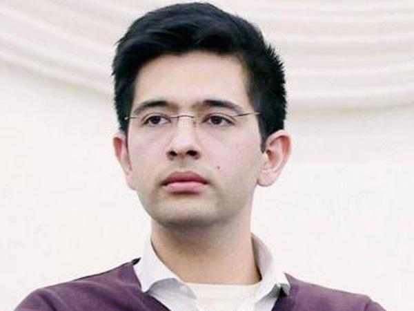 AAP national spokesperson and south Delhi candidate Raghav Chadha