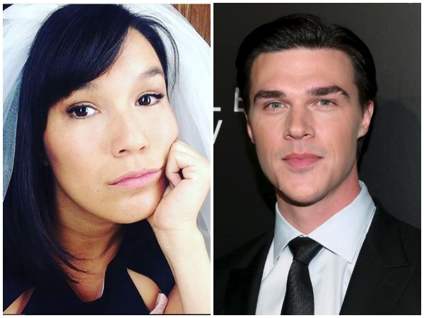 Zoe Chao and Finn Wittrock