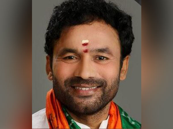 Union Minister of State for Home G Kishan Reddy [Photo/Twitter]