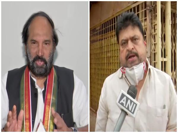 TPCC chief Uttam Kumar Reddy and BJP MLC Ram Chander Rao