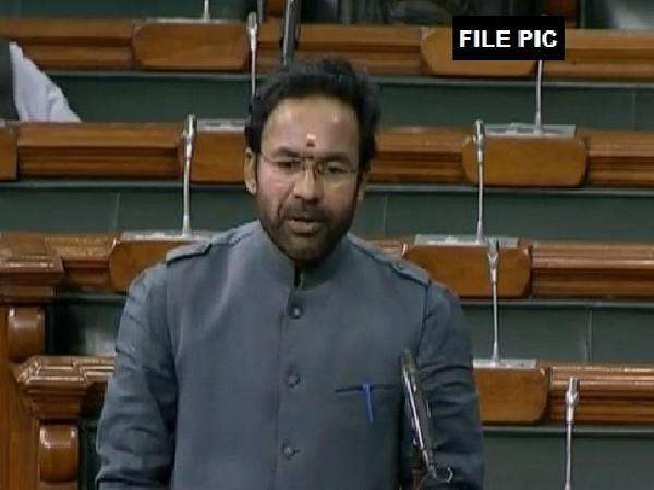 MoS for Home Affairs G Kishan Reddy (File Photo)