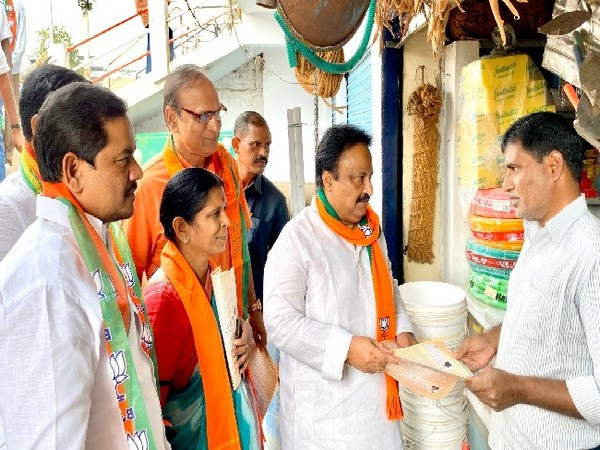 Former MP AP Jithender Reddy in Mahabubnagar, Telangana on Wednesday.