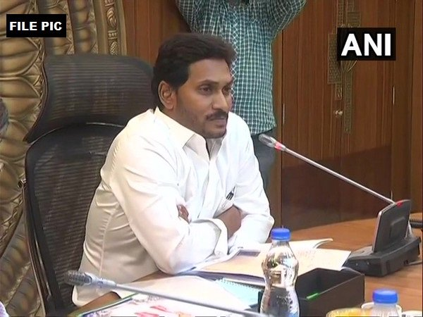 Andhra Pradesh Chief Minister, YS Jaggan Mohan Reddy (File Photo/ANI)