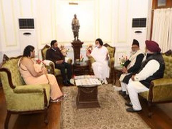 Visuals from the meeting. (Photo courtesy: Twitter@kishanreddybjp)