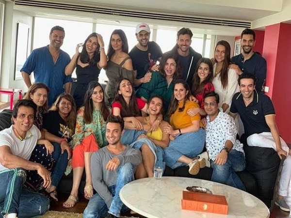 Farah Khan hosts lunch party for fellow celebs