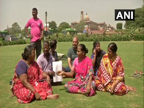 Family members of the 243 missing Indians. (Photo:ANI)