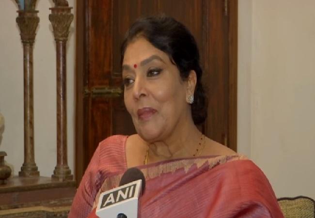 Congress leader Renuka Chowdhury speaking to ANI on Tuesday.