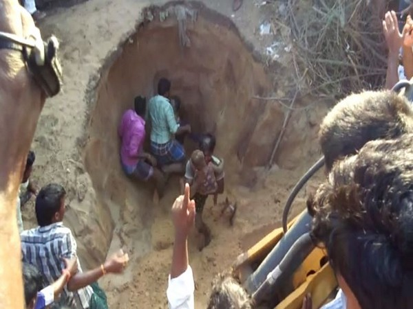 Visuals from the rescue work in Nellore district.