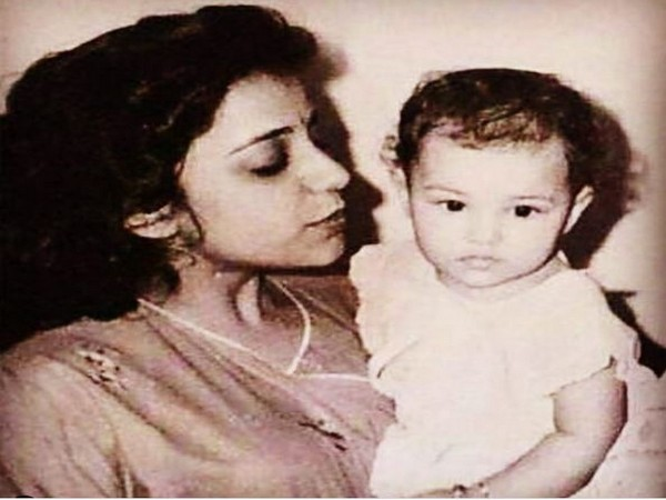 Throwback picture of Parineeti Chopra with her mother