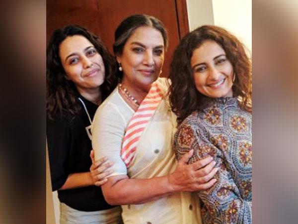Swara Bhaskar, Shabana Azmi and Divya Dutta, Picture courtesy: Instagram