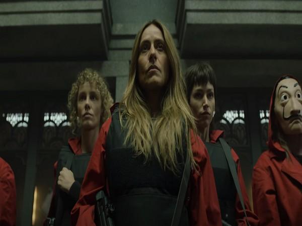 A still from 'Money Heist' season 5 trailer (Image Source: YouTube)