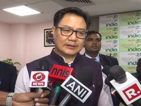 Union Minister for Sports and Youth Affairs Kiren Rijiju