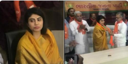 Cricketer Ravindra Jadeja's wife Rivaba joins BJP on Sunday in Gujarat's Jamnagar.