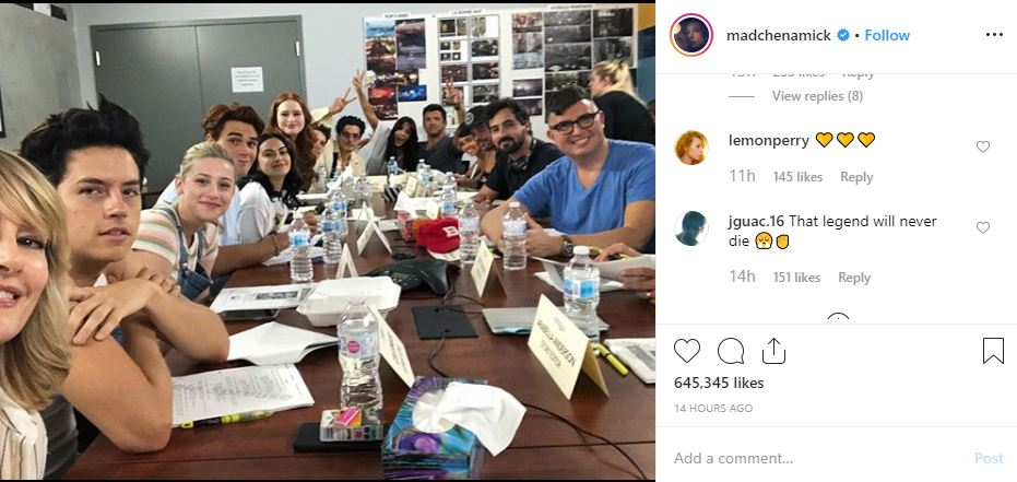 Riverdale' cast honours Luke Perry as they kick-start