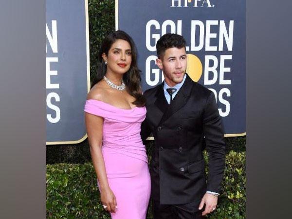 Priyanka Chopra and Nick Jonas at  the Golden Globes. (Image courtesy: Instagram)