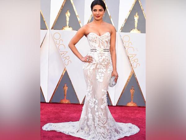 Priyanka Chopra at the previous year's Oscars ceremony (Photo/ Priyanka Chopra Instagram)
