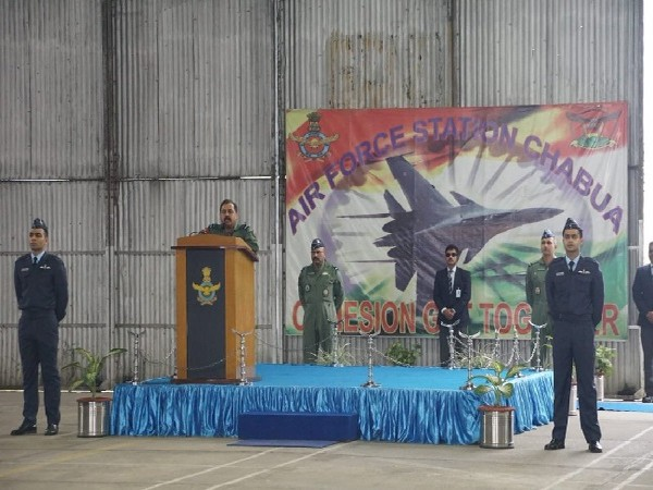 Chief of Air Staff RKS Bhadauria on two-day visit to Air Force Stations in EAC.
