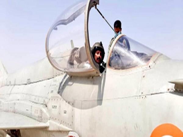 IAF chief RKS Bhadauria flew a Mig-21 Bison on Thursday.