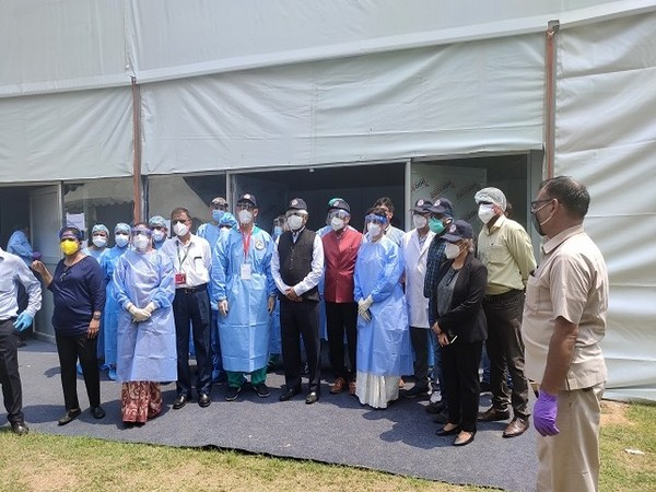 Ron Malka, Ambassador of Israel to India and K. Vijay Raghavan, Principal Scientific Advisor from PMO at the testing site at RML. [Photo/ANI]