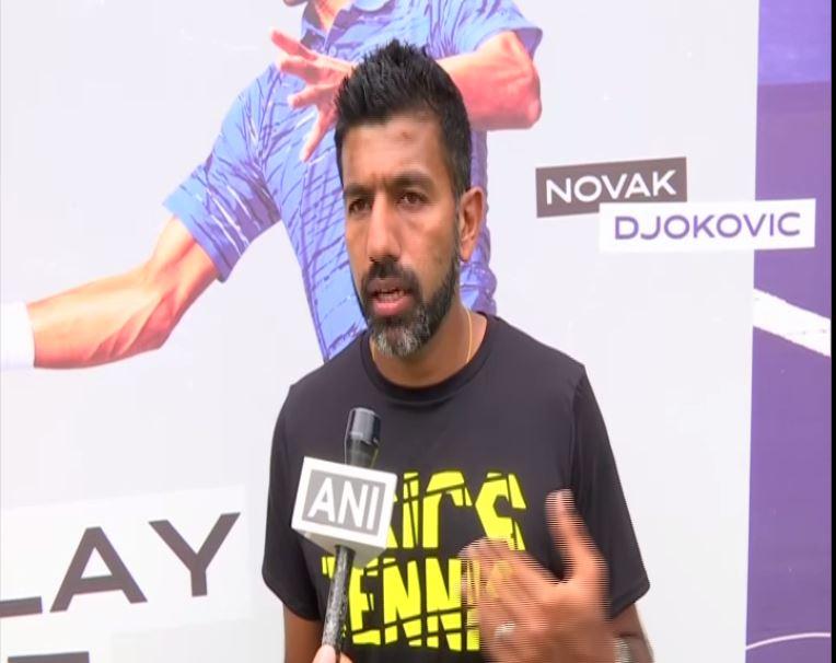 Indian tennis player Rohan Bopanna