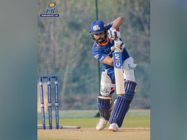 Mumbai Indians captain Rohit Sharma (Image: Mumbai Indians Twitter)