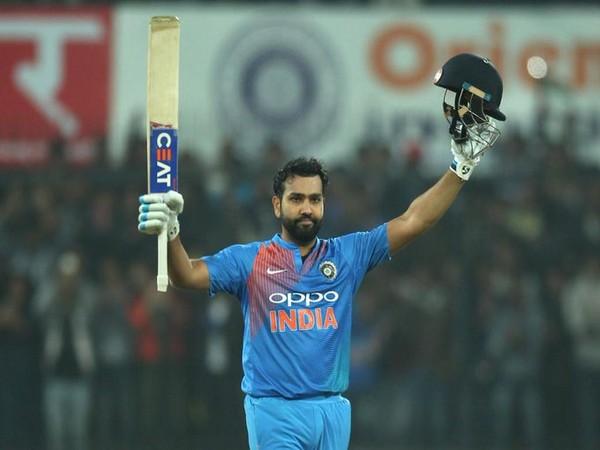 India batsman Rohit Sharma (Photo/ICC Twitter)