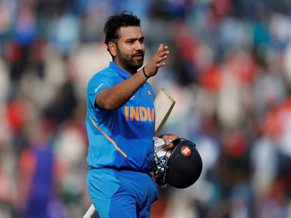 India's stand-in skipper Rohit Sharma