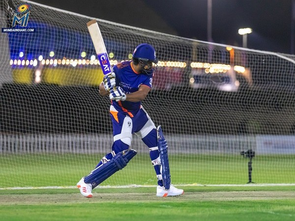Indian opening batsman and Mumbai Indians skipper Rohit Sharma (Image: Mumbai Indians' Twitter)