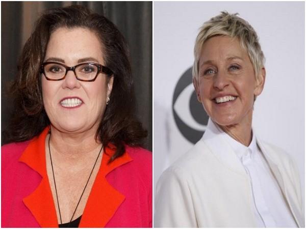 Rosie O'Donnell and Ellen DeGeneres