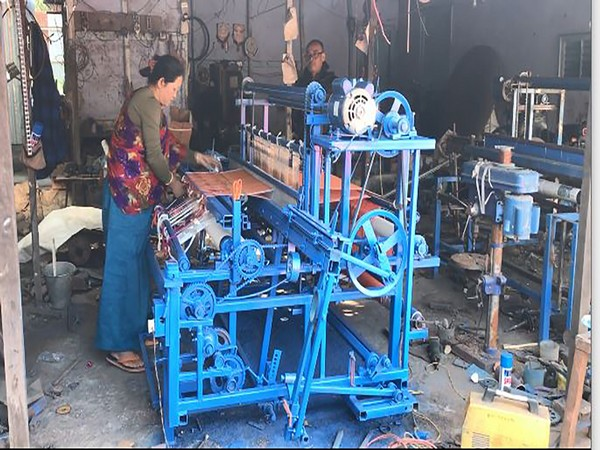 Presently, 70 employees, mostly women, are engaged in weaving at Biren's establishment