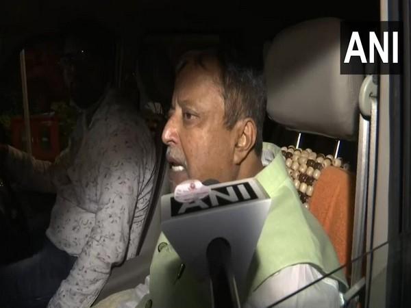 Mukul Roy speaking to ANI in New Delhi on Thursday.