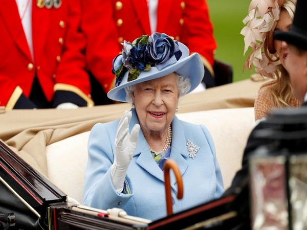 Queen Elizabeth II arrives at the Royal Ascot on Tuesday (Photo/Reuters)