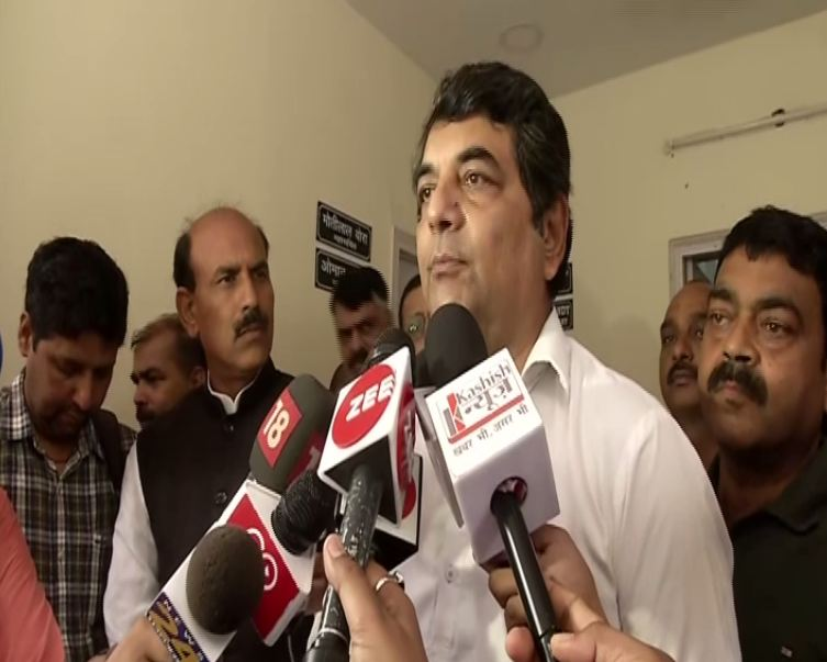 Congress general secretary in-charge of Jharkhand RPN Singh