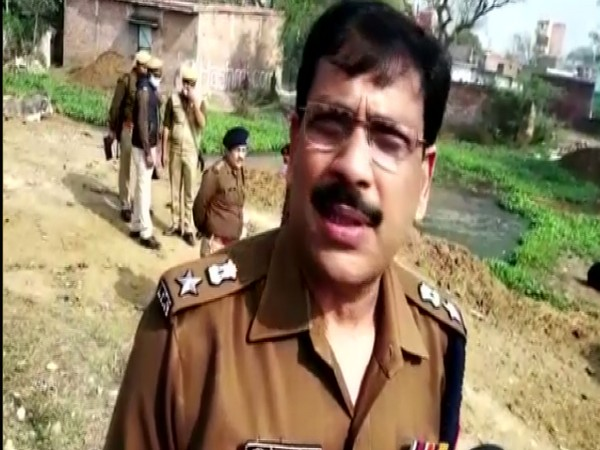SP Amethi Dinesh Singh (Photo/ ANI)