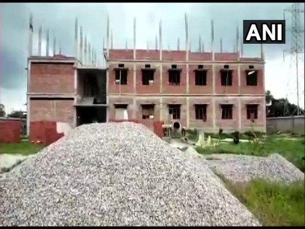 Under construction RSS school at Bulandshahr.