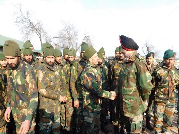 Lt Gen Ranbir Singh arrived in Srinagar on Monday for reviewing security situation
