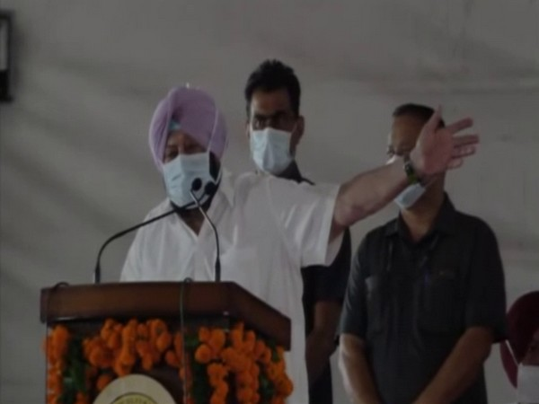 Punjab CM Amarinder Singh (Photo/ANI)