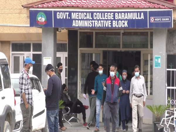 Government Medical College in Jammu and Kashmir's Baramulla district (Photo/ANI)