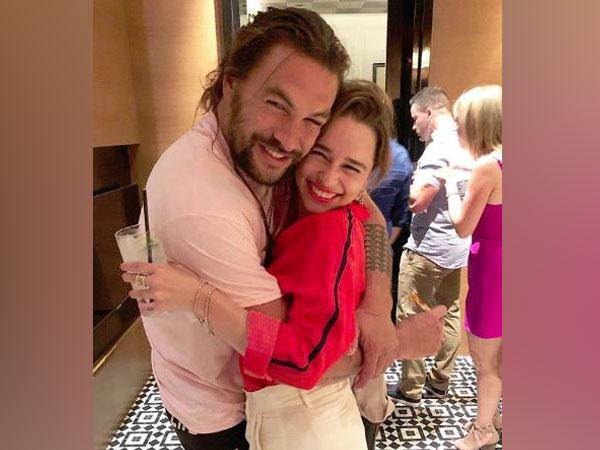 Emilia Clarke and Jason Momoa, Image courtesy: Instagram
