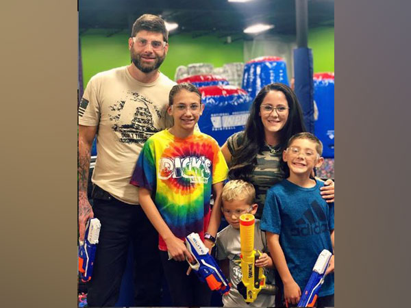 Jenelle Evans and David Eason with kids, Picture courtesy: Instagram
